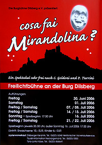 2006 cosa fai Mirandolina