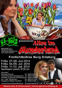 2014 Alice im Wunderland