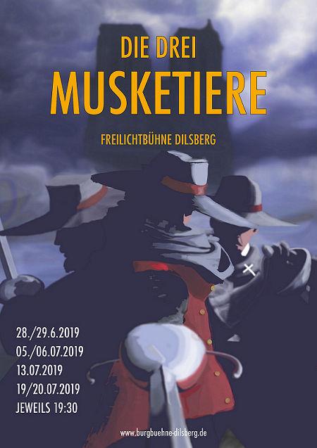 Plakat Musketiere2019 gr